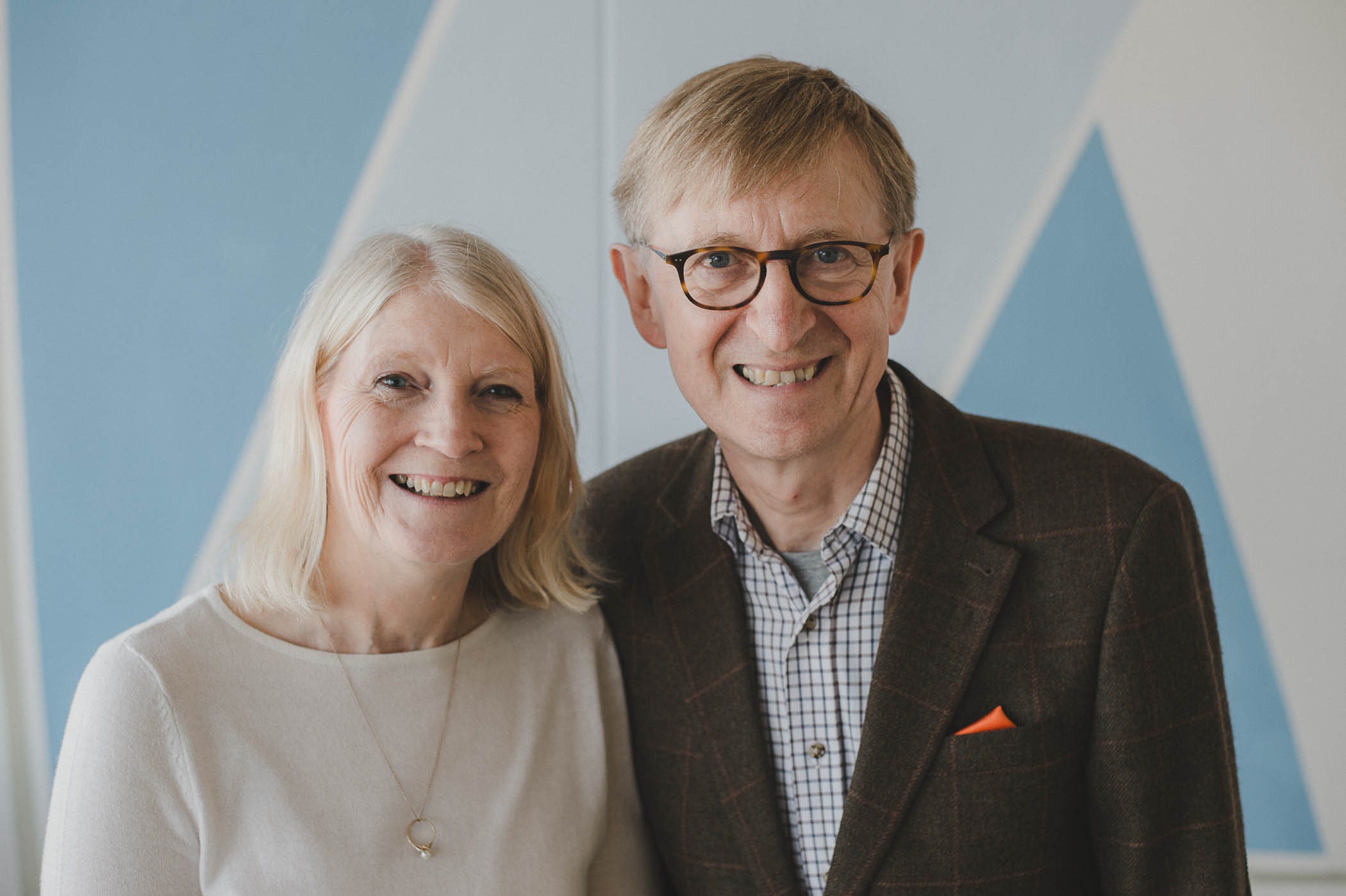 Iain and Lesley Stewart